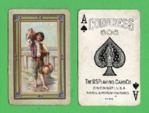 Antique Collectible playing cards Antonio by Congress